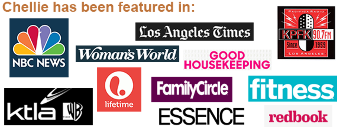 Chellie has been featured in a wide variety of articles, magazines, and interviews