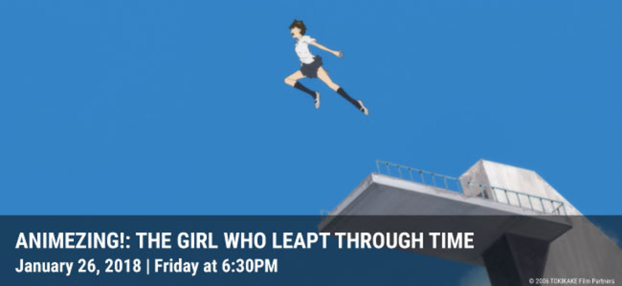 Animezing: The Girl Who Leapt Through Time