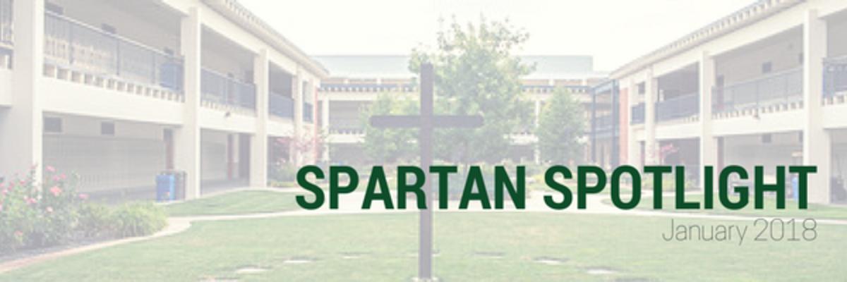 Spartan Spotlight - January 2018
