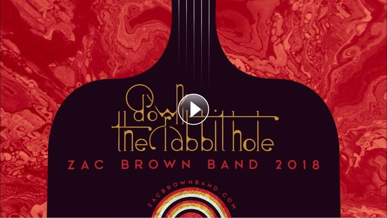 Zac Brown Band Down The Rabbit Hole Tour Announcement Video