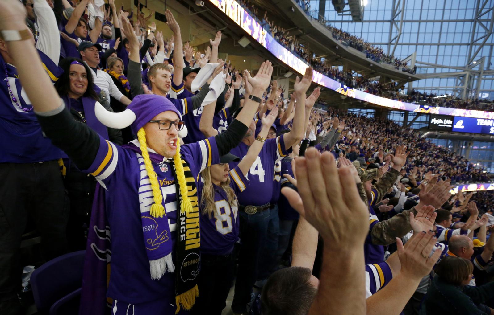 Vikings crowd