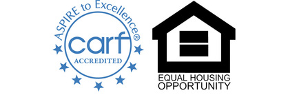 CARF, CCAC accredited. Equal Housing Opportunity
