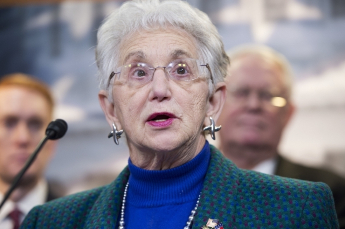 """Rep. Virginia Foxx, Republican of North Carolina and chair of the education committee: """"No American — no matter their walk of life — can afford for us to simply reauthorize the Higher Education Act. They need us to reform it."""" The drafting session on the major legislation began on Tuesday and was likely to continue into Wednesday morning."""