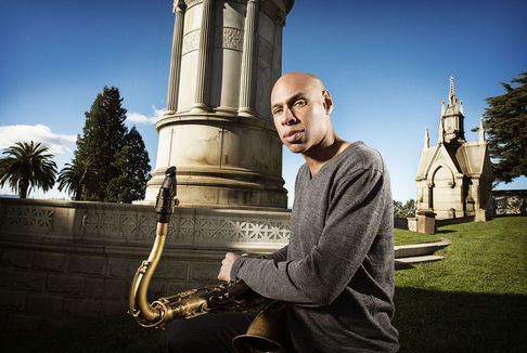 Joshua Redman performs with the Puget Sound Jazz Band, Feb. 14