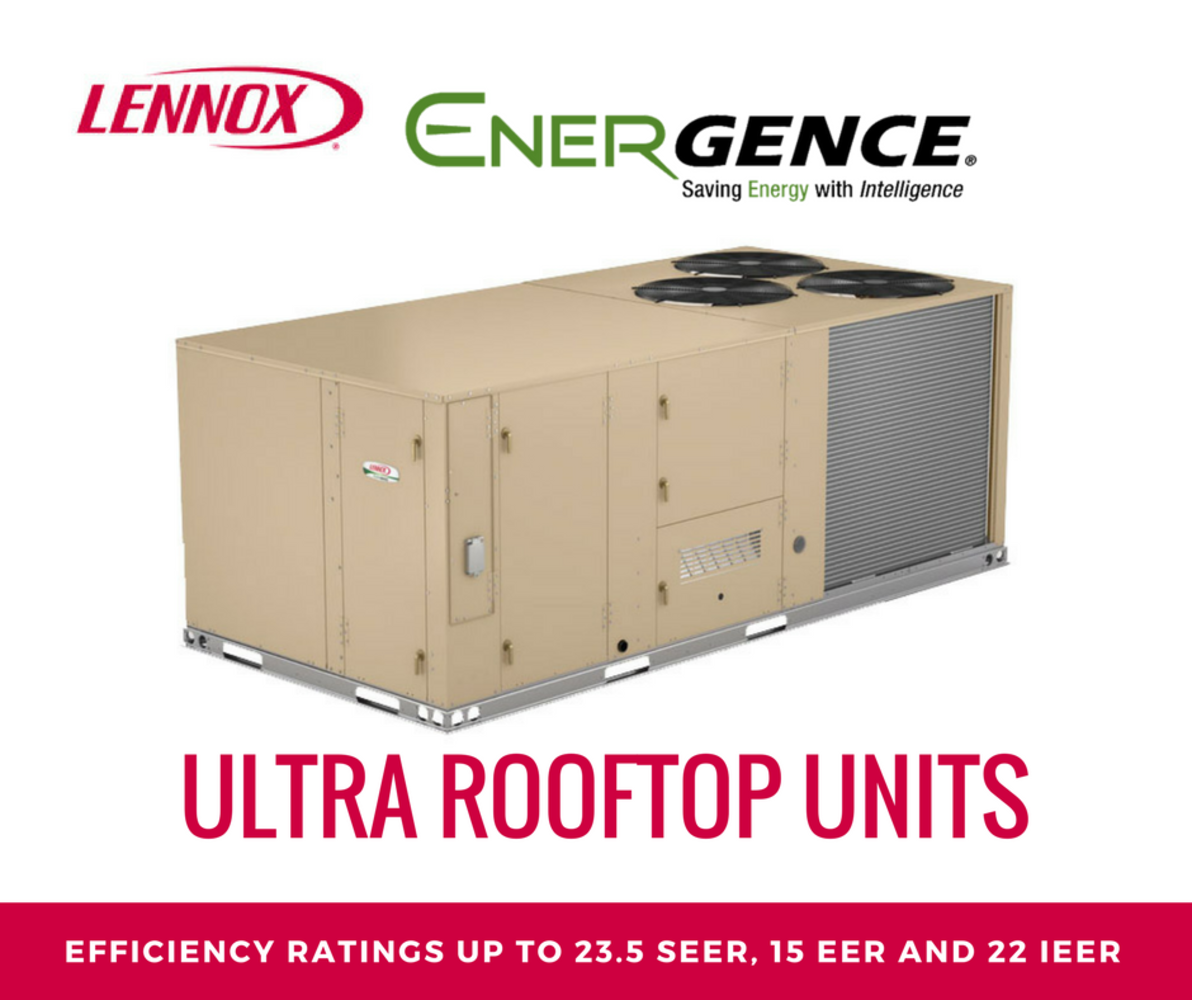 LENNOX - ENERGENCE ULTRA ROOFTOP UNITS