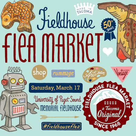 The 50th annual Women's League Flea Market will be March 17