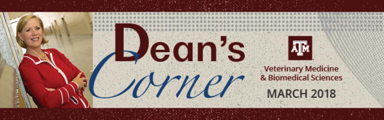 Dean's corner header