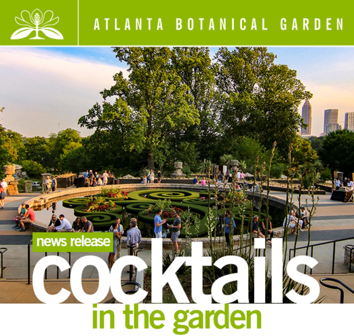 Cocktails in the Garden