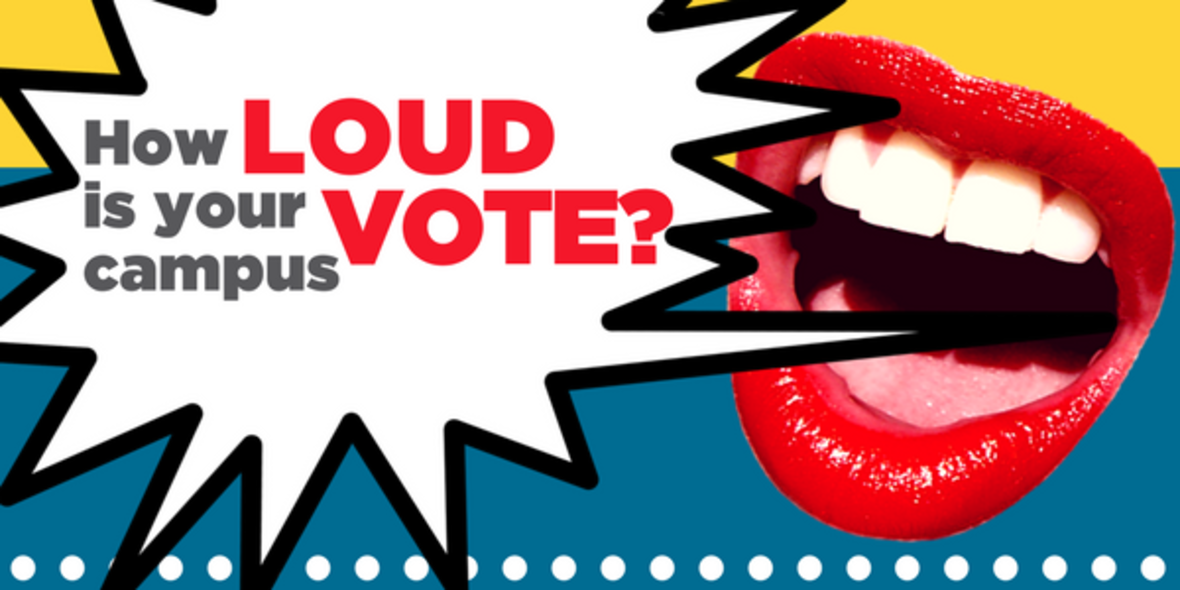 How loud is your campus vote?