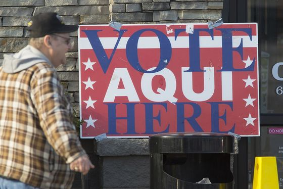 Primary voting day at a polling place in South Austin on March 6, 2018. Bob Daemmrich for The Texas Tribune