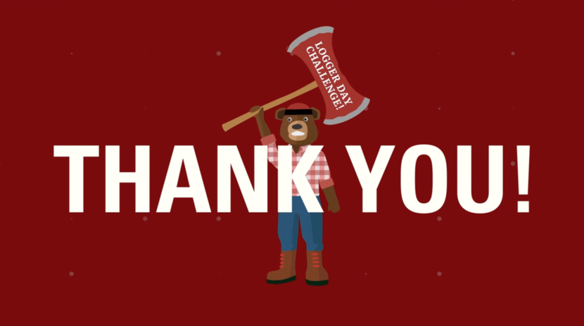 Thank you for making the Logger Day Challenge a success!