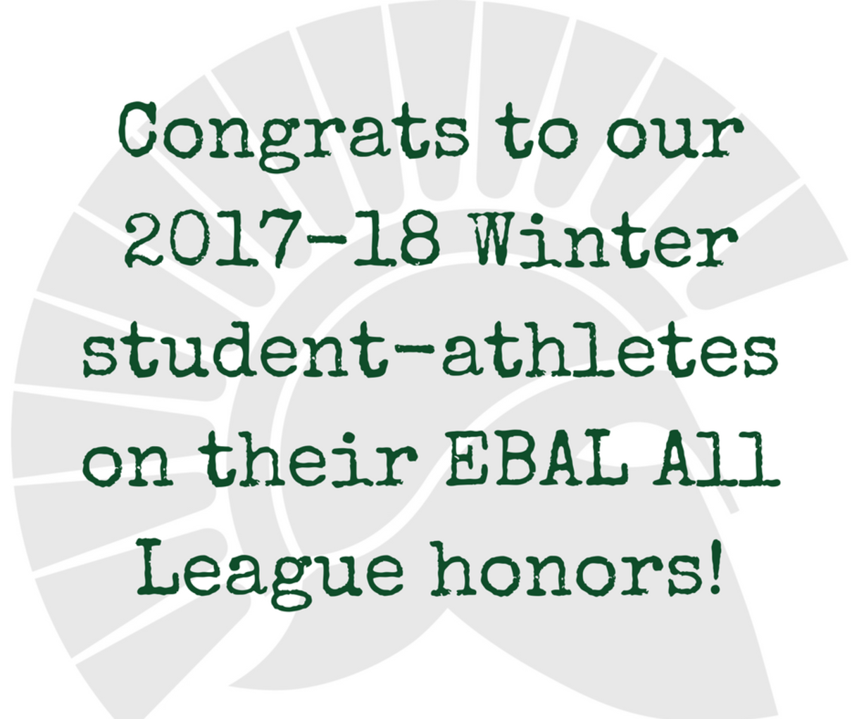 Link to Winter 2017-18 EBAL All League Honors   DLS Athletics