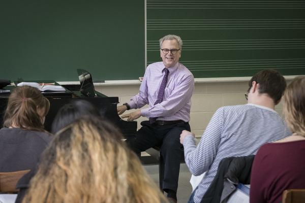 Symphony Orchestra concert honors Prof. Geoffrey Block, April 13