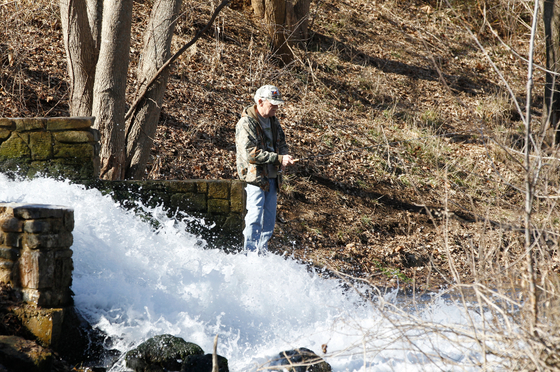 The Spring River offers many opportunities for trout now.