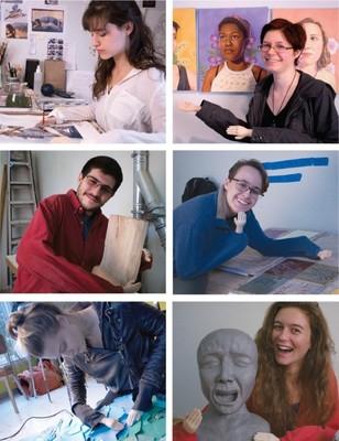 2018 Senior Art Show opens April 25