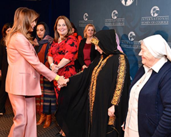 Meridian honors 2018 International Women of Courage