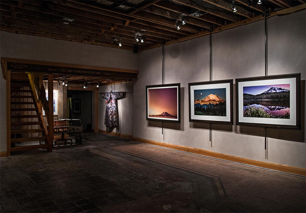 Mounted artwork photography by Adam Angel