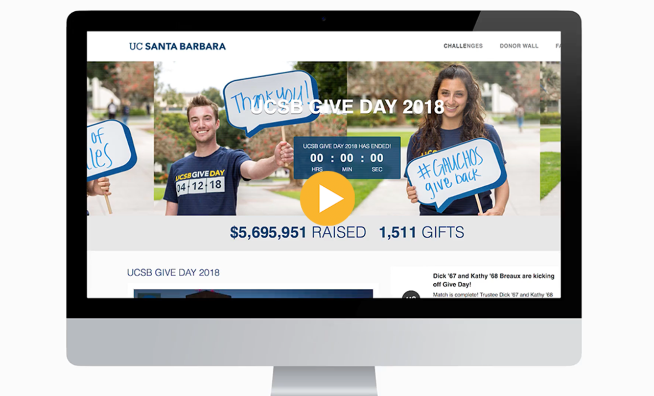UCSB Give Day Thank You Video