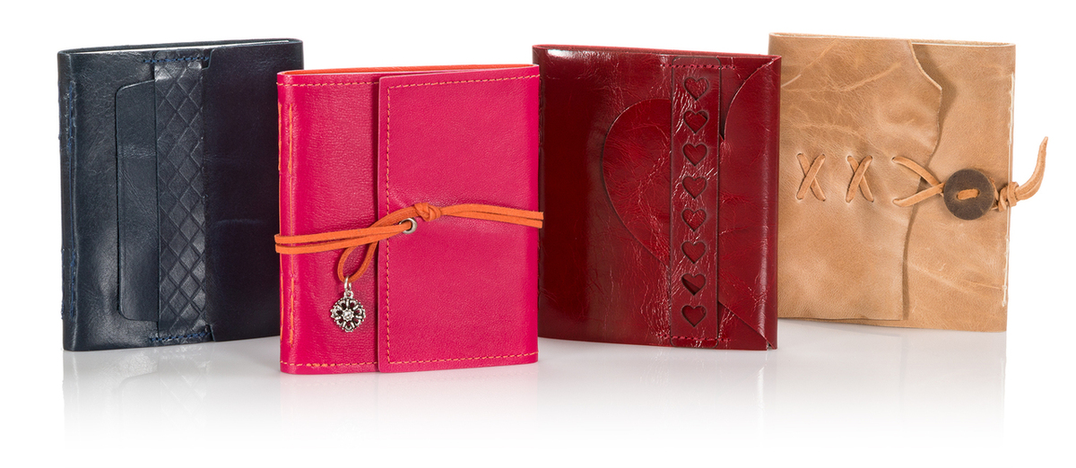 Mini Leather Wrap Albums