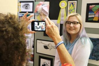 Newaygo County student artists celebrated at TrueNorth Art Scholarship Contest/Exhibit