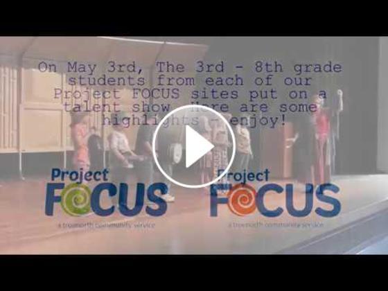Project FOCUS' Focus on Talent showcase