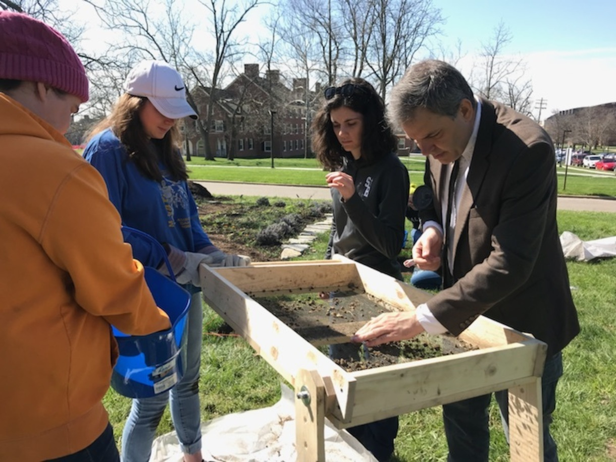 ATH 416 Dig at McGuffey House and Museum