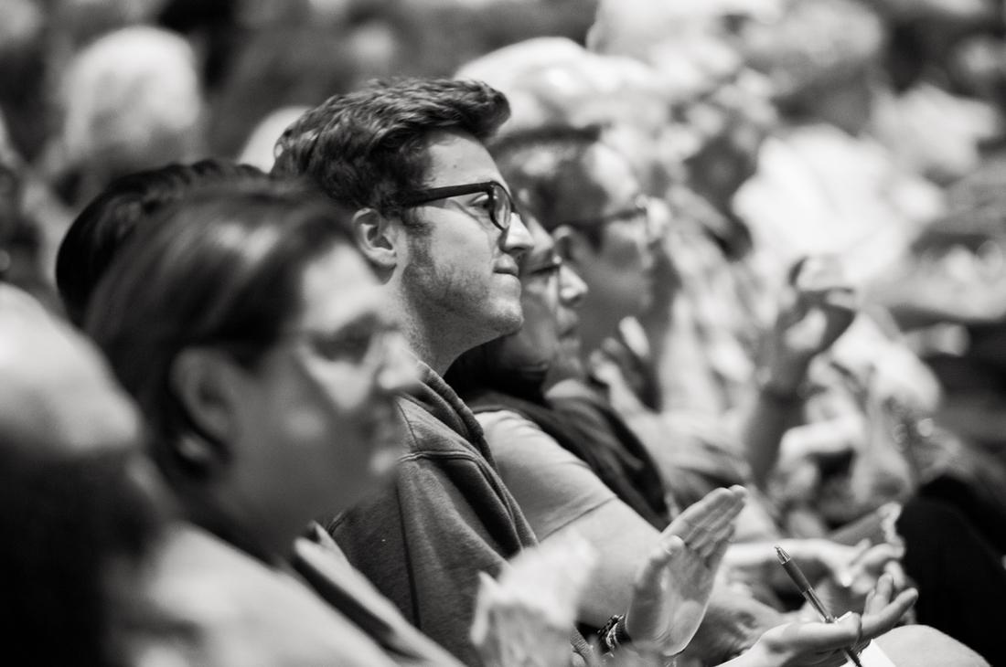 Cogan Lecture audience