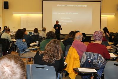 Dr. John Efron teaching