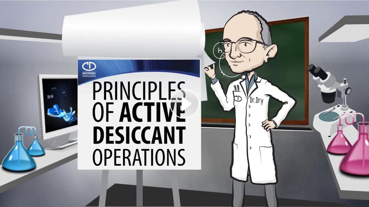 Principles of Active Desiccant Operations