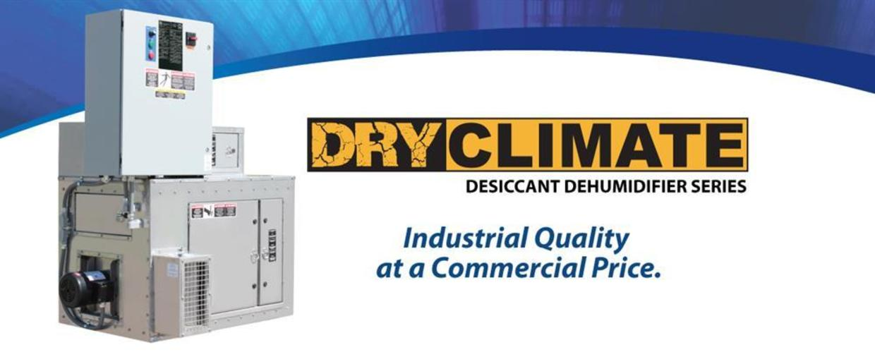 Dry Climate Desiccant Dehumidifier Series