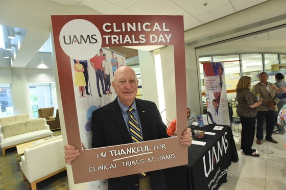 Former UAMS patient Harold