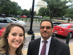 Regina Reed, Policy Organizer, and Bobby Watts, CEO, meet with Lawmakers on Capitol Hill in to talk about Opioid Policy Priorities.