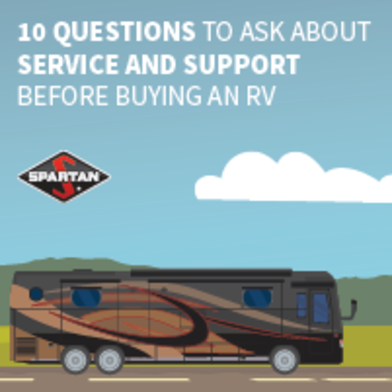 10 Questions to ask about service and support before buying an RV