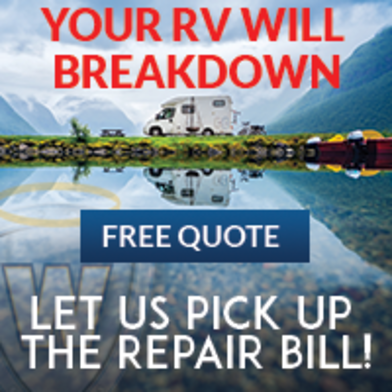 Your RV Will Breakdown....Free Quote