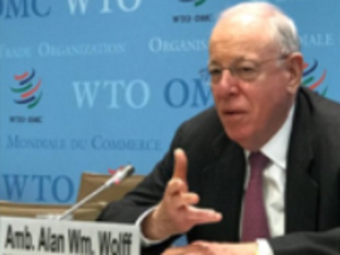 Global Business Breakfast -- Conversation with Ambassador Alan Wolff, WTO Deputy Director-General, hosted by Boeing for members of Meridian's Corporate Council