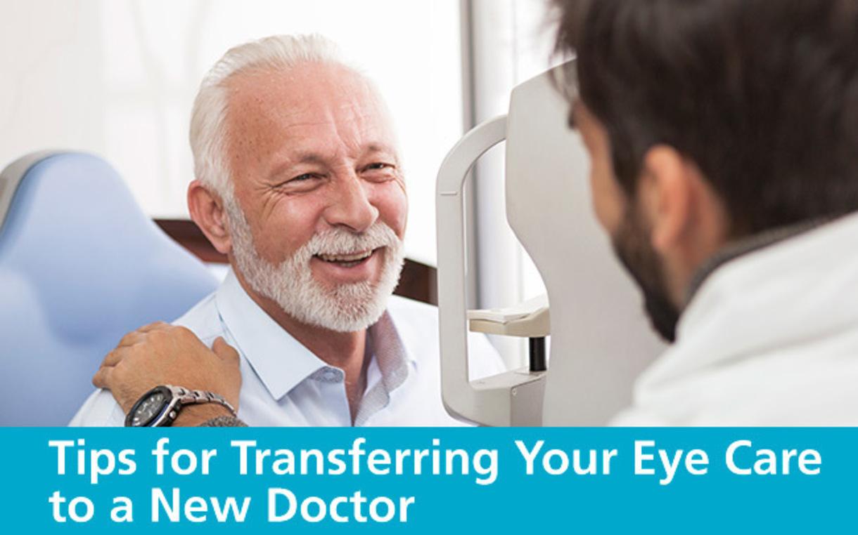 Tips for transferring eye care