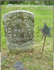 Tombstone of Harris Cochrane