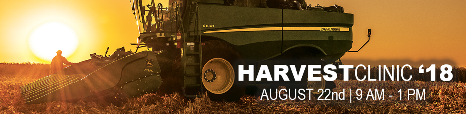 Reynolds Harvest Clinic - August 22nd