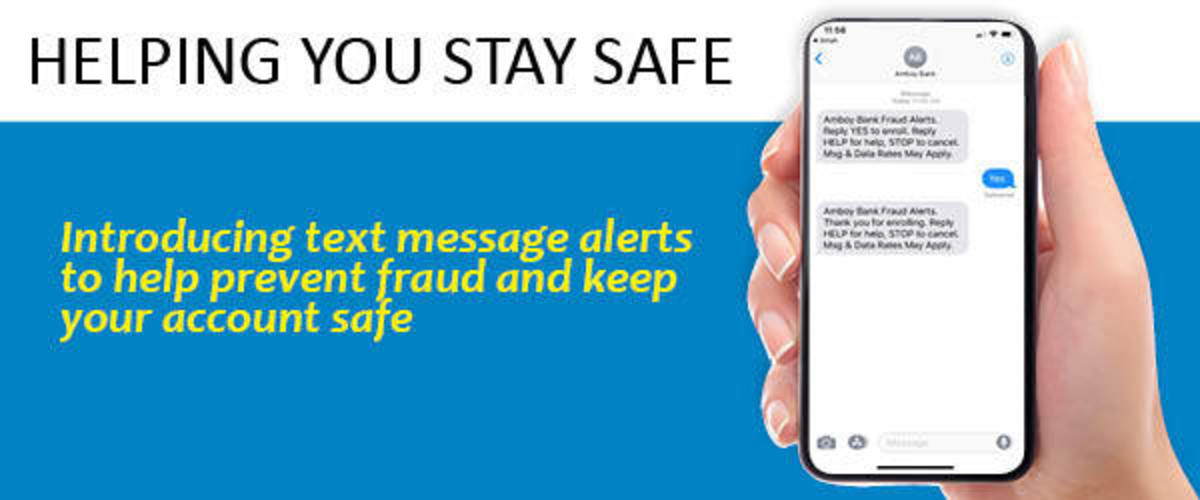 Stay safe with text alerts