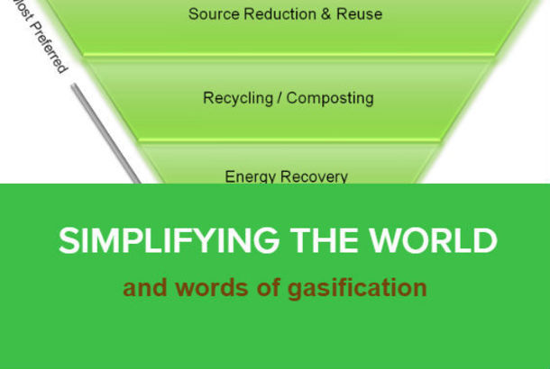 Simplifying the World and Words of Gasification