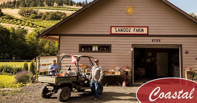 Coastal Customer Feature: Sandoz Farm