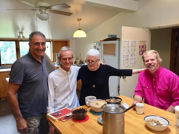 Magdi, Robert Watson, Sandra Gonzalez and Dan Barnhardt