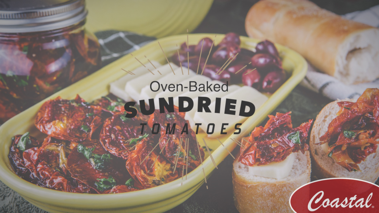 Oven Baked Sundried Tomatoes