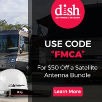 DISHForMyRV - Use Code FMCA to Save $50