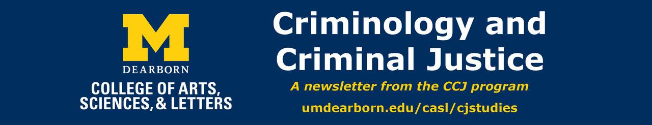 Criminology and Criminal Justice Studies