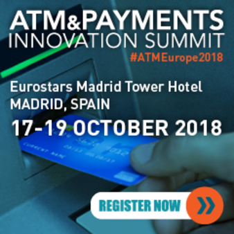 ATM & Payments Summit, October 2018, Madrid Spain
