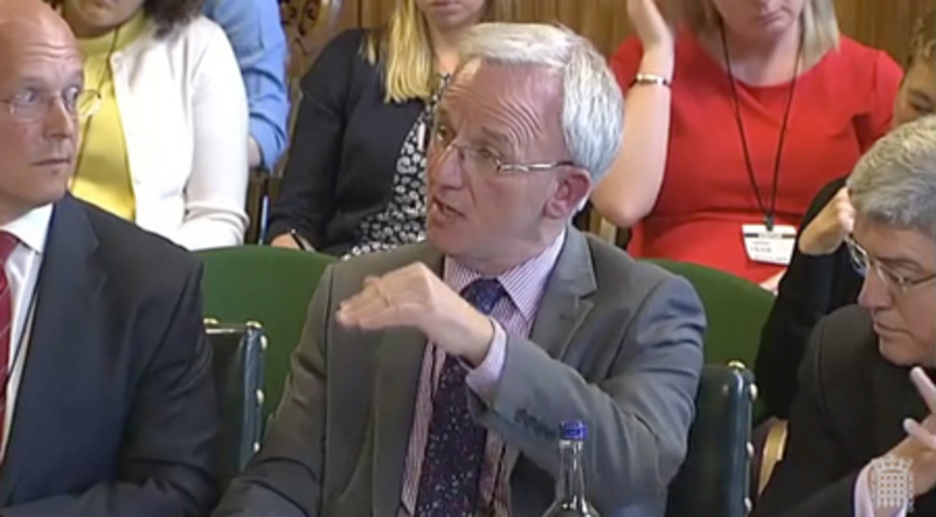 Ron Delnevo Speaking to the Scottish Affairs Committee, in the UK Parliament