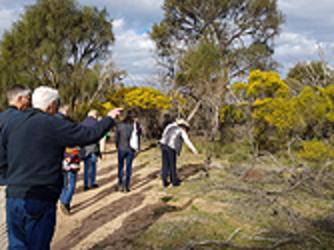 Wimmera Biodiversity Seminar field trip