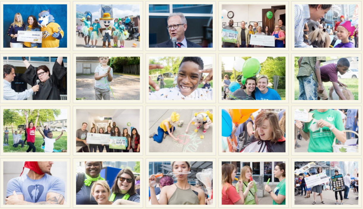 The Big Payback 2018 Photo Collage