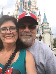 Sandy Keller and her husband, Craig